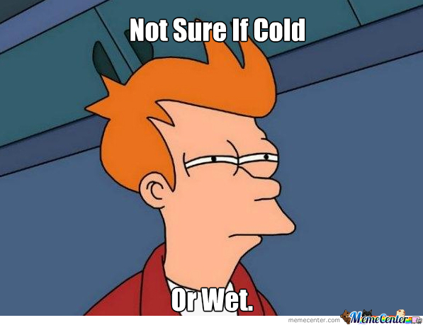 Whenever I Sit On A Bench When It's Winter.