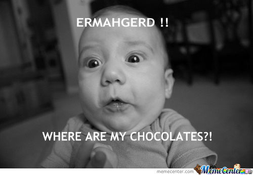 Where Are My Chocolates?!