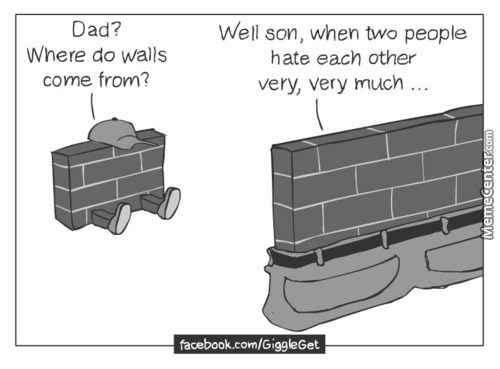 Where Do Walls Come From?