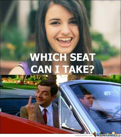 which seat? no seat