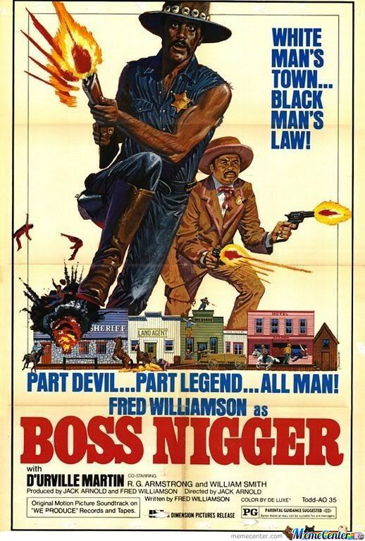 White Man's Town.. Black Man's Law!!