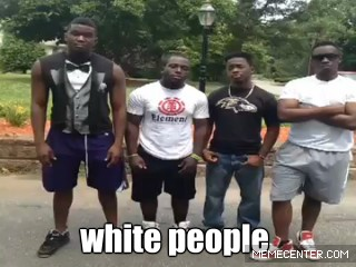 White People Vs Black ...