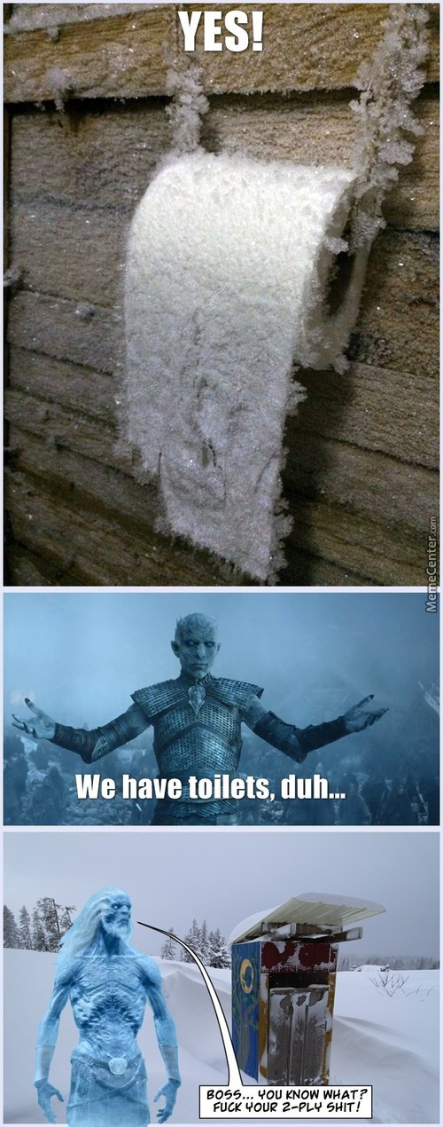 White Walkers Are Civilised, Sensitive People