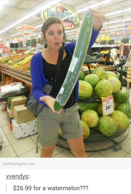Who Cares About The Watermelon? What About The Cantaloupe?