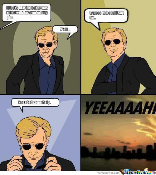 Who Else But Horatio?