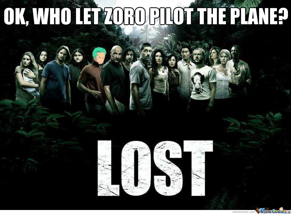 Who Let Zoro Pilot The Plane?