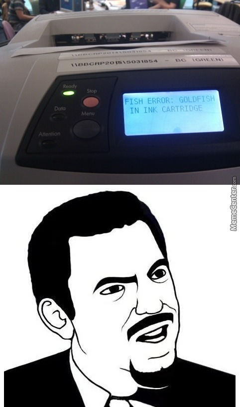 Who The Hell Programmed This Printer?