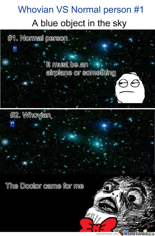 Whovian Vs Normal Perosn #1