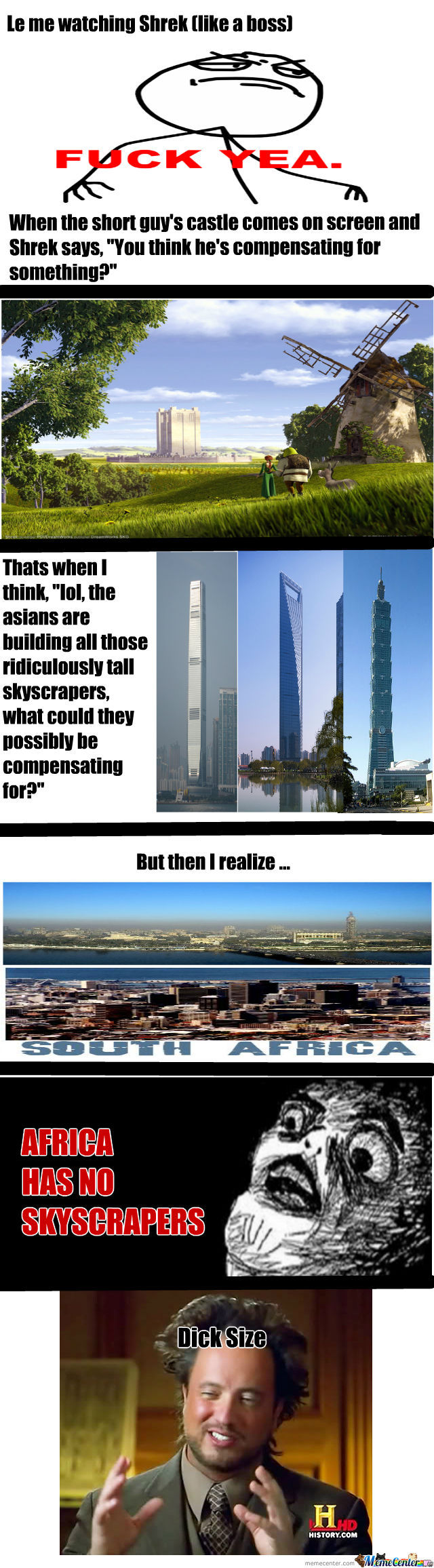 Why Africa Has No Skyscrapers (Besides How They're Poor As Shit)