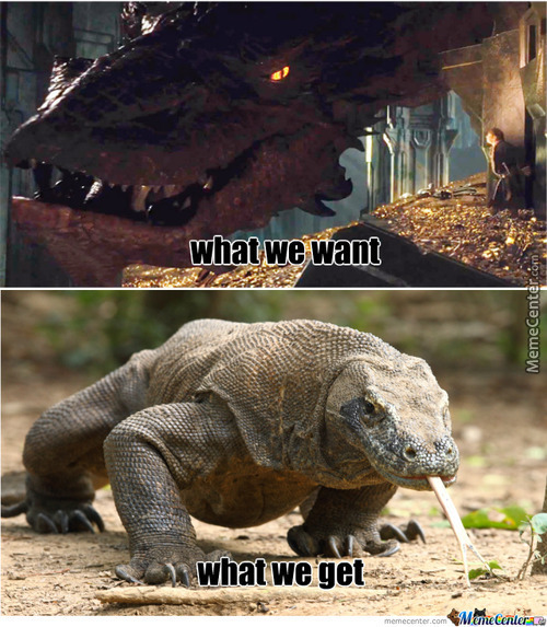 Why Can't We Have Badass Dragons