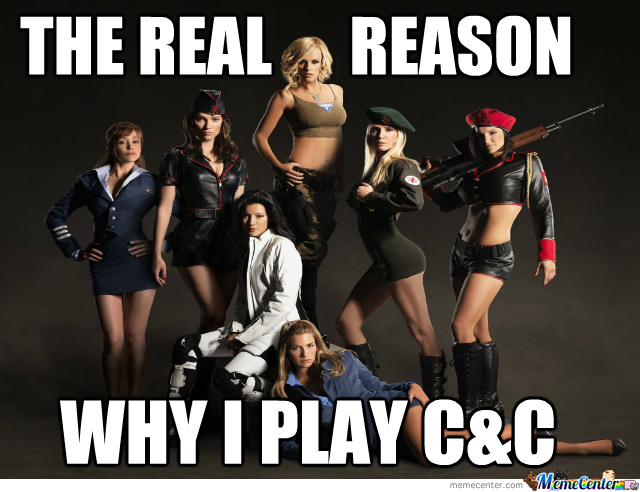 Why Do I Play Eas Command And Conquer?