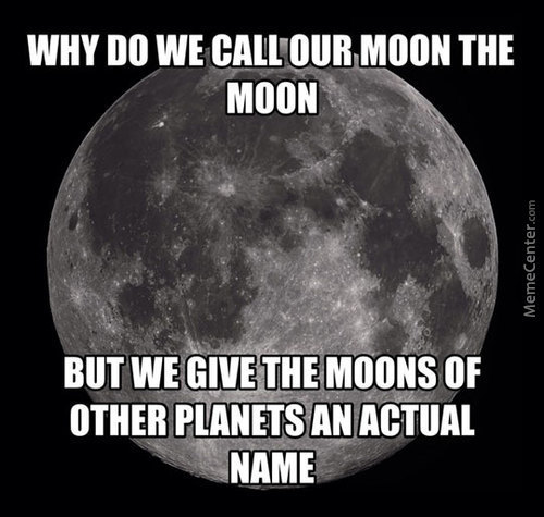 Why Doesnt Our Moon Have A Name