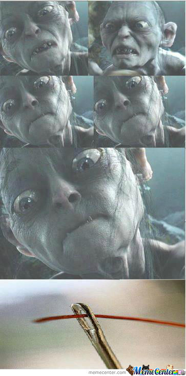 Why Gollum Is So Angry All The Time
