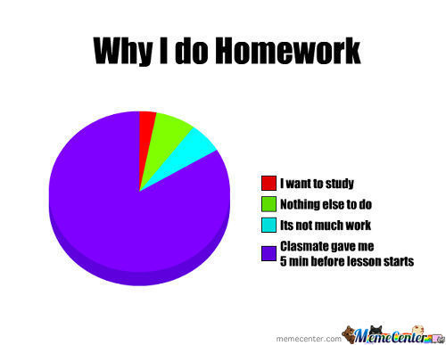Why I Do Homework