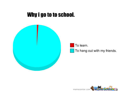 Why I Go To School.