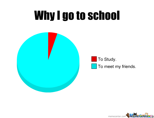 Why I Go To School?