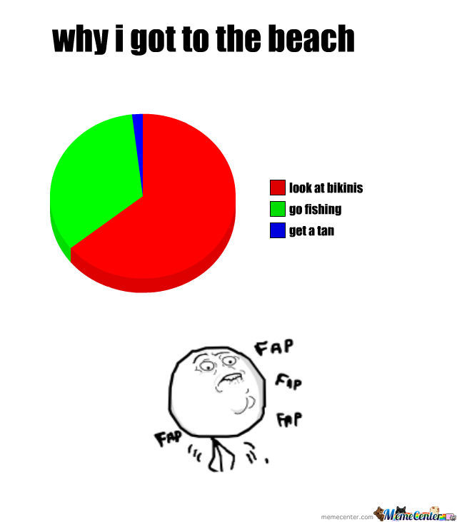 Why I Go To The Beach