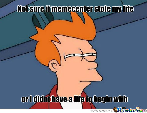 Why I Started To Go On Memecenter