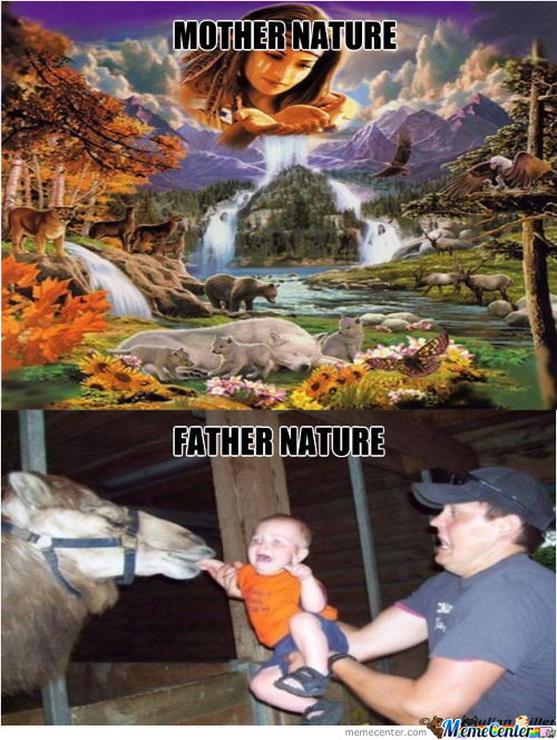 Why Its Only Mother Nature