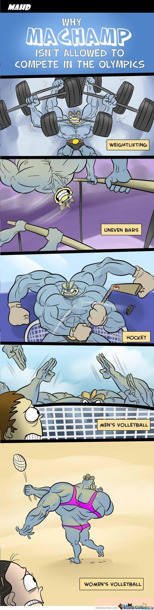 Why Machamp Isn't Allow To Compete In The Olympics