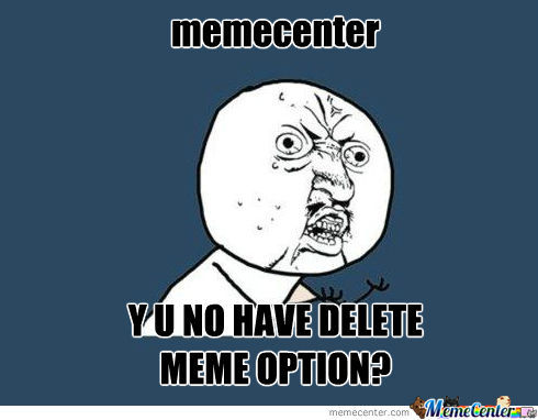 Why Memecenter?!