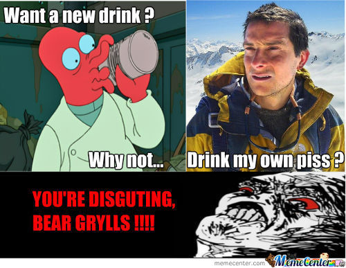 Why Not Bear Grylls ?