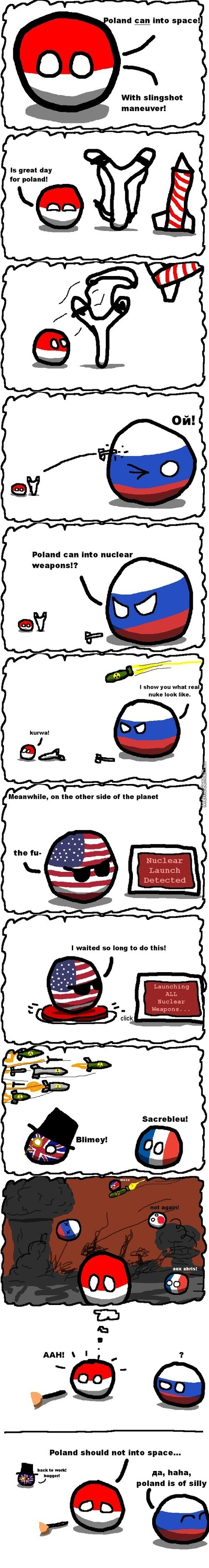 Why Poland Should Not Into Space