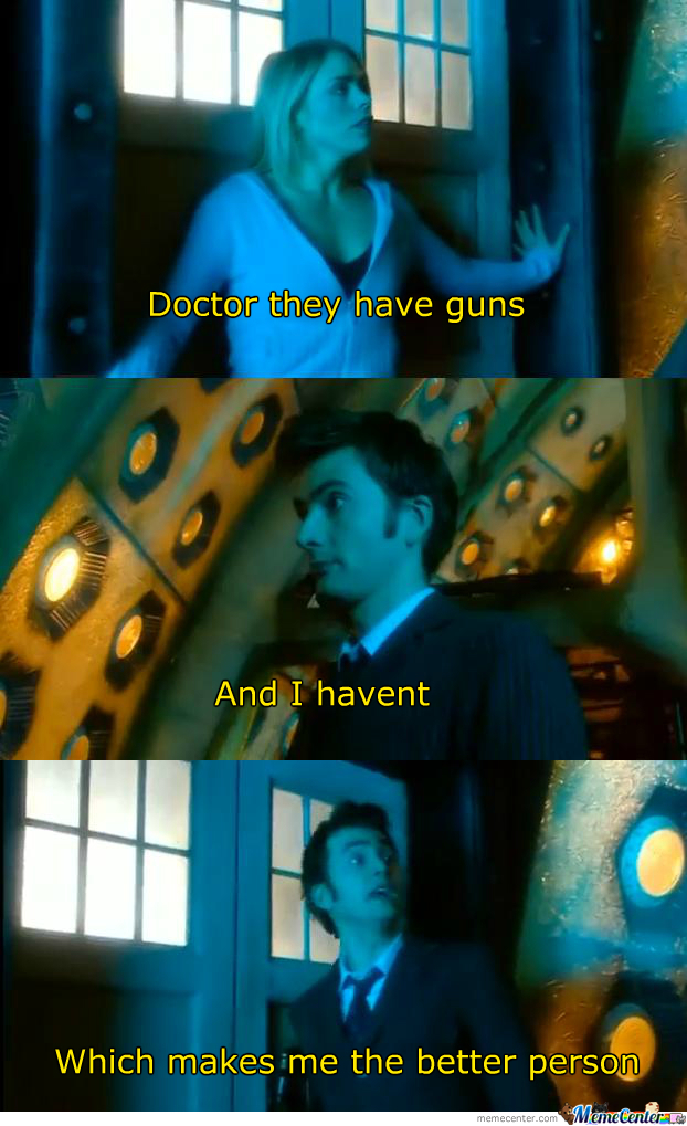 Why The Doctor Is The Best