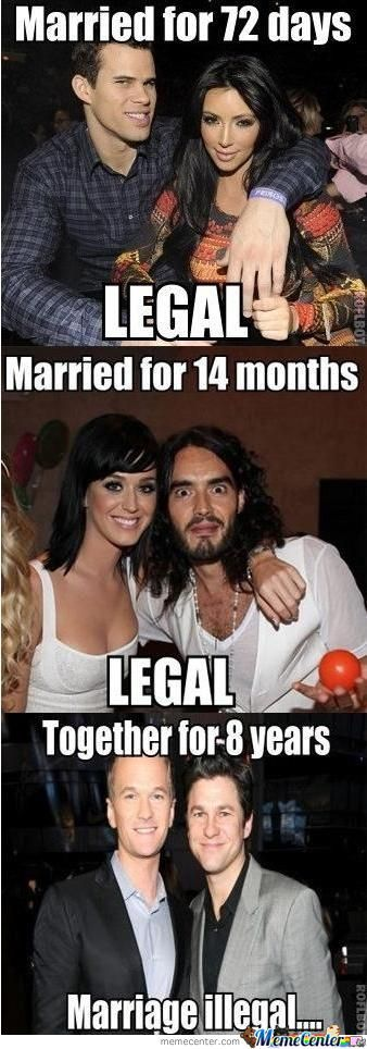 Why The Hell Is Gay Marriage Illegal?!