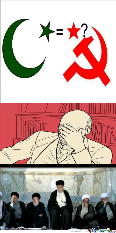 Why The Hell Would You Think Islam Is The Same As Communism?