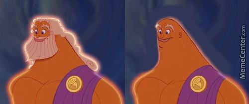 Why Zeus Doesn't Shave