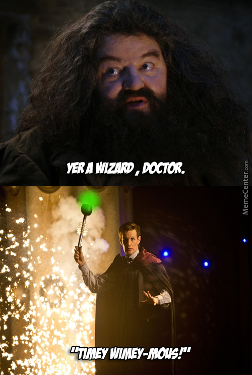Wibbly Wobbly Magic Stuff.