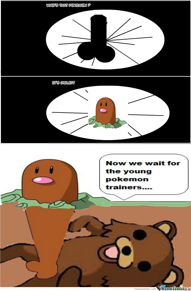 diglett meme - photo #1