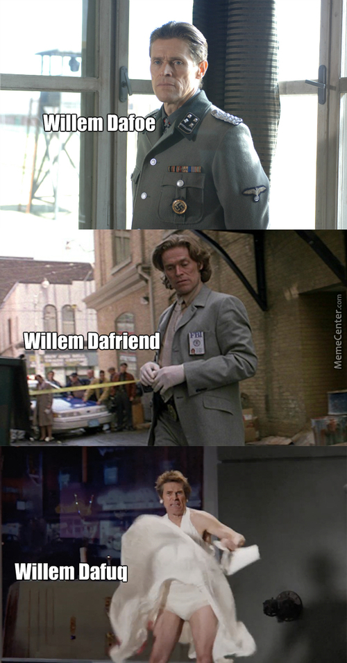 Willem Dafoe And His Diverse Roles