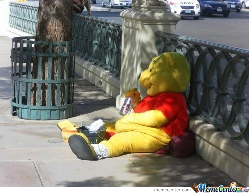 Winnie The Pooh And Vodka