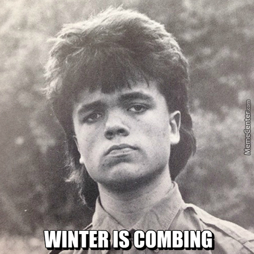 Winter Is Combing
