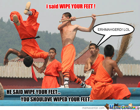 Wipe Your Feet