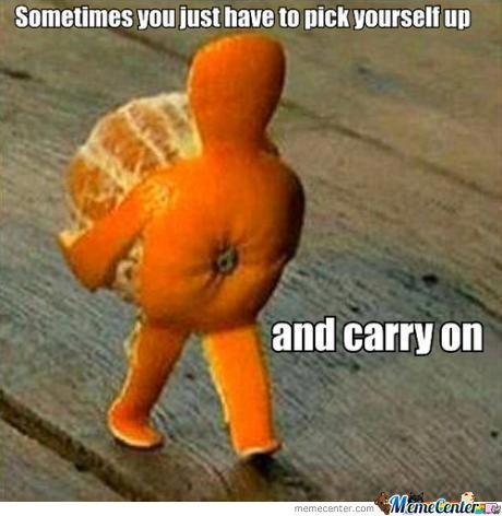 Wise Words From Orange