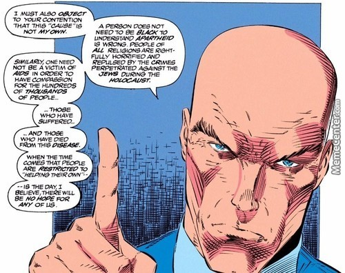 Wise Words From Professor Xavier