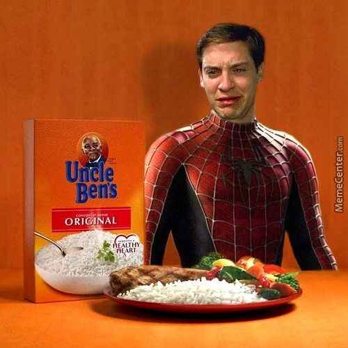With Great Power Comes Great Rice Puns Ability