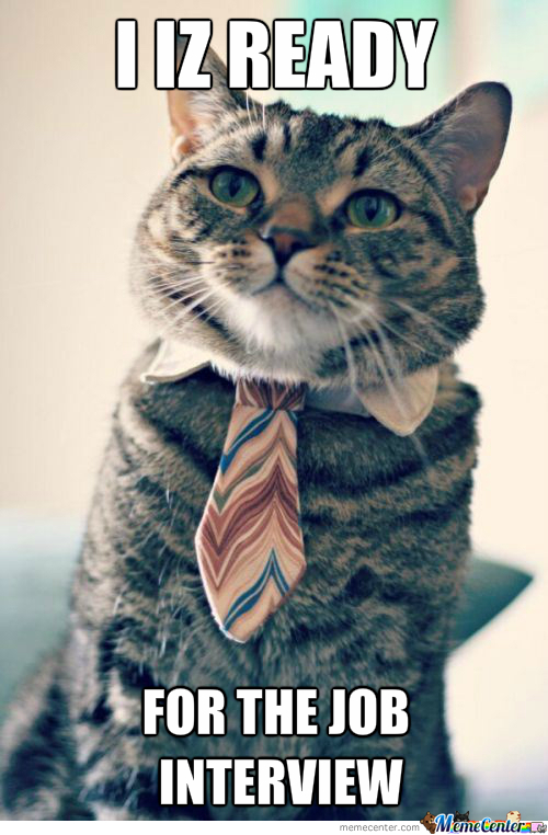 With My Cuteness I Will Get The Job!