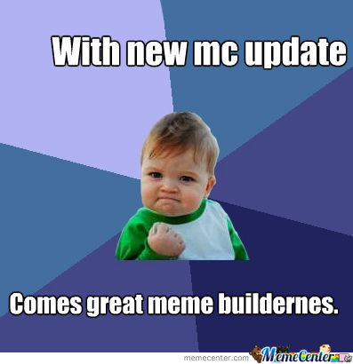 With New Memecenter Update