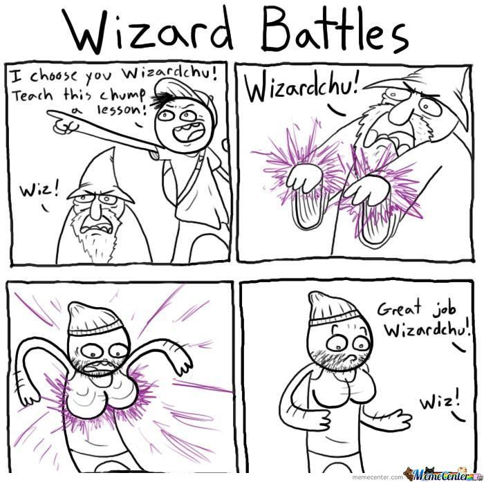 Wizard Battles