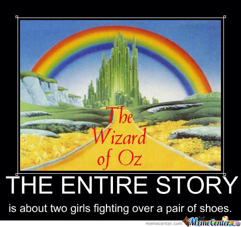 Wizard Of Oz = Chick Flick