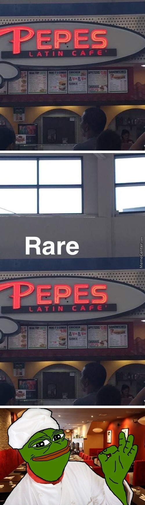 Wojak's Favorite Cafe, They Serve Pee Pee Poo Poo