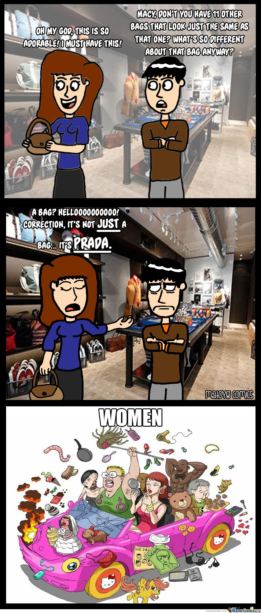 Women And Their Bags