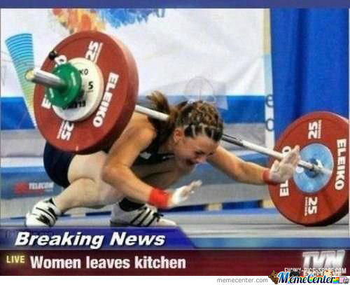 Women .. Y U Leaves Kitchen