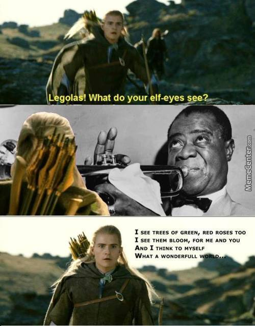 Wonderful Legolas