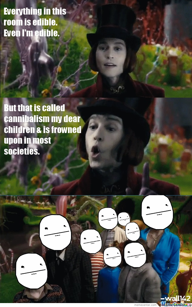 Wonka's View On Cannibalism