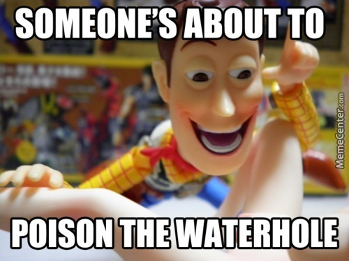 Woody Please Think About The Children